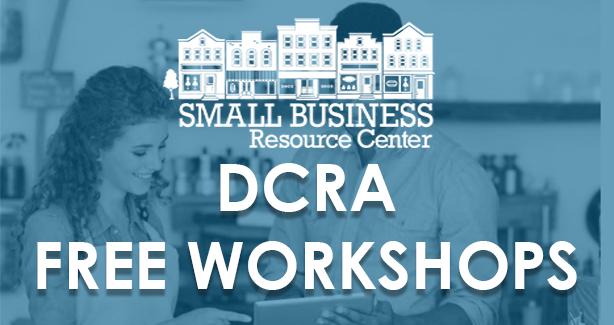 FREE DCRA Workshops!