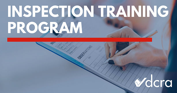Inspection Training Program