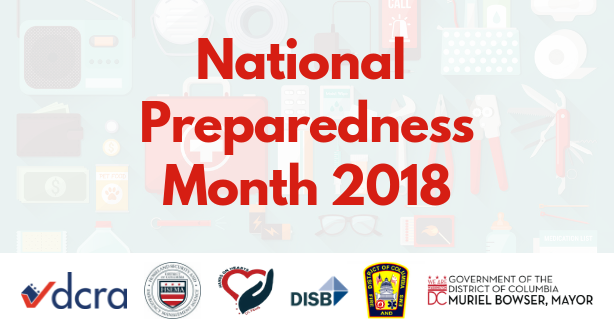 National Preparedness Month 2018