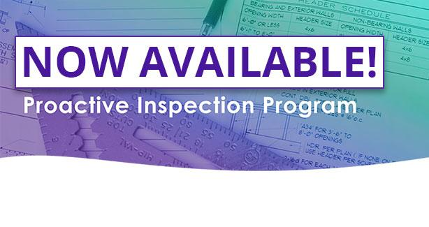 Proactive Inspection Program