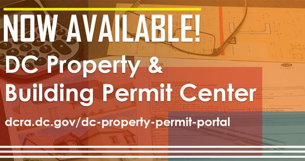 DC Property & Permit Center Portal