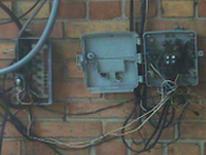 Electrical box violation