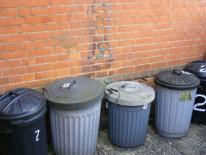 Trash Cans Photo