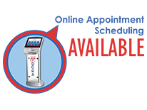 Online Appointment Scheduling Available